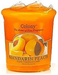 Colony HomeScents Series センターキャンドル マンダリンピーチ CNCH0518