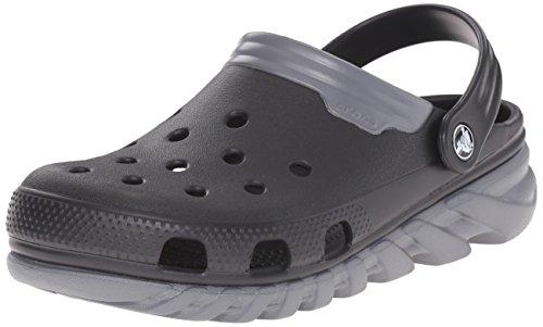 [クロックス] サンダル デュエット マックス クロッグ (旧モデル) 201398 Black/Charcoal US M8/W10(26 cm)