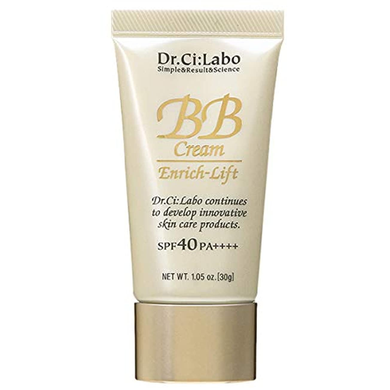 バリケードキャビンドクターシーラボ Dr.Ci:Labo BBクリーム エンリッチリフトLN18 SPF40 PA++++ 30g