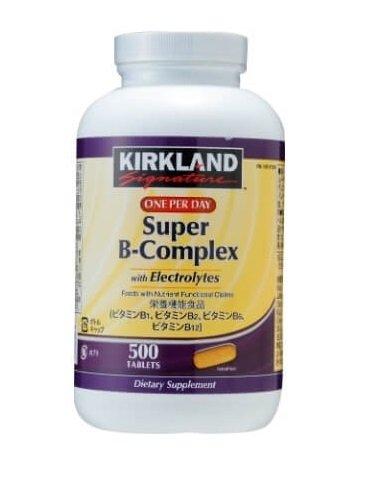 ビタミンB コンプレックス サプリメント 500粒