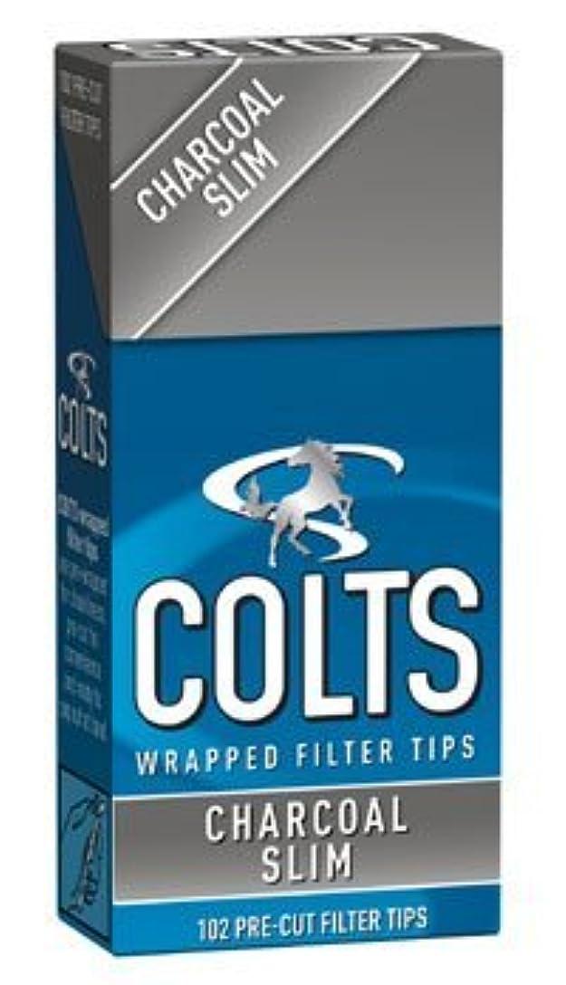 優越仲良し致命的な[colts] コルツ スリム チャコール フィルター 102個入りx15パック 手巻きタバコ
