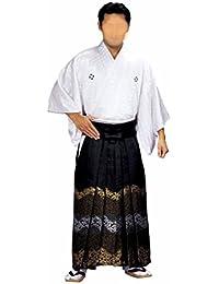【日本製】金襴袴 (ao5585)[馬乗り型]  舞踊袴 はかま 袴 着物 きもの 成人式