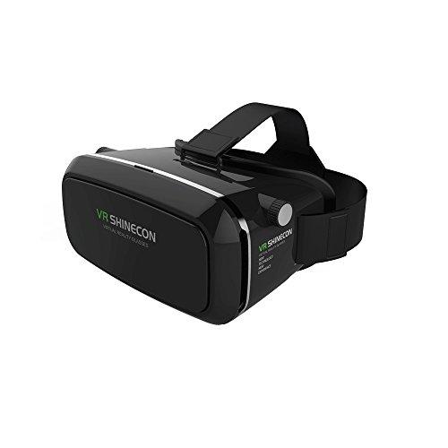 TechMe VR 3Dグラスメガネセット 3D動画 6インチ以下のスマホ対応 プラスチック製