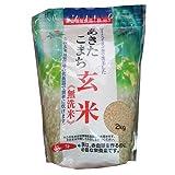 無洗米こまち玄米鉄分強化2K