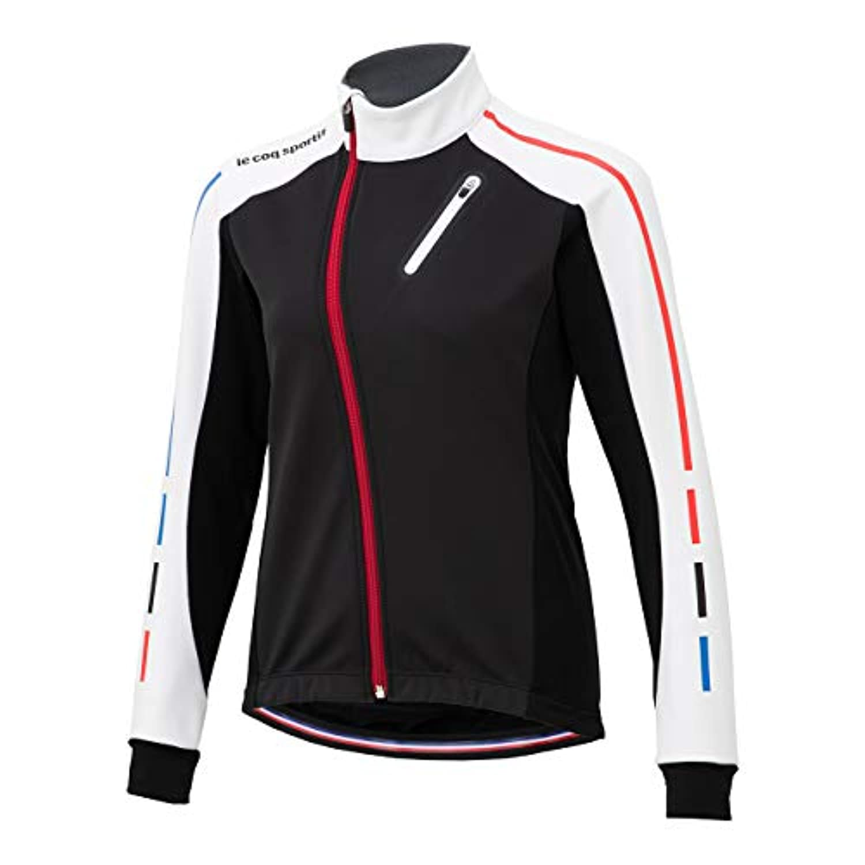 ◎18FW ルコック(le coq sportif) テクノブレンボンディングジャケット Technobrane Bonding Jacket レディース QCWMGC62-WHT