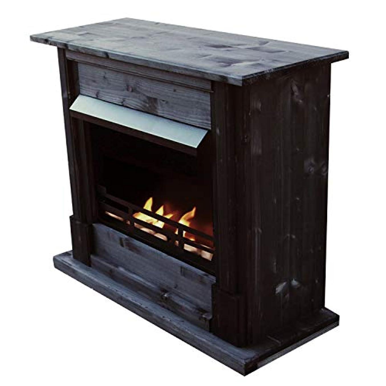 鎮静剤アルプスシャッフルジェル+ ethanol fire-places Emilyデラックスinclusive : 1調節可能なstainless-steel Burner ブラック 10080