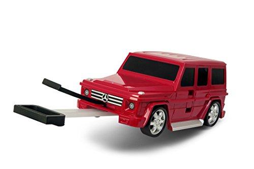 [기내용 캐리어 어린이용] 차형캐리 케이스 Ridaz 라이더의 메르세데스 벤츠G클래스 레드 Mercedes Benz G Class-