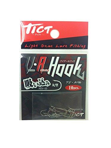 TICT(ティクト) V・R ヘッド 吸い込み 丸型 フック HOV-50 釣り針