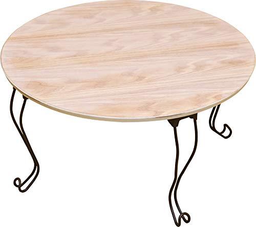 サカベ株式会社 アンティーク調 丸型テーブル (ホワイト/WH) B00Z04TE30 1枚目