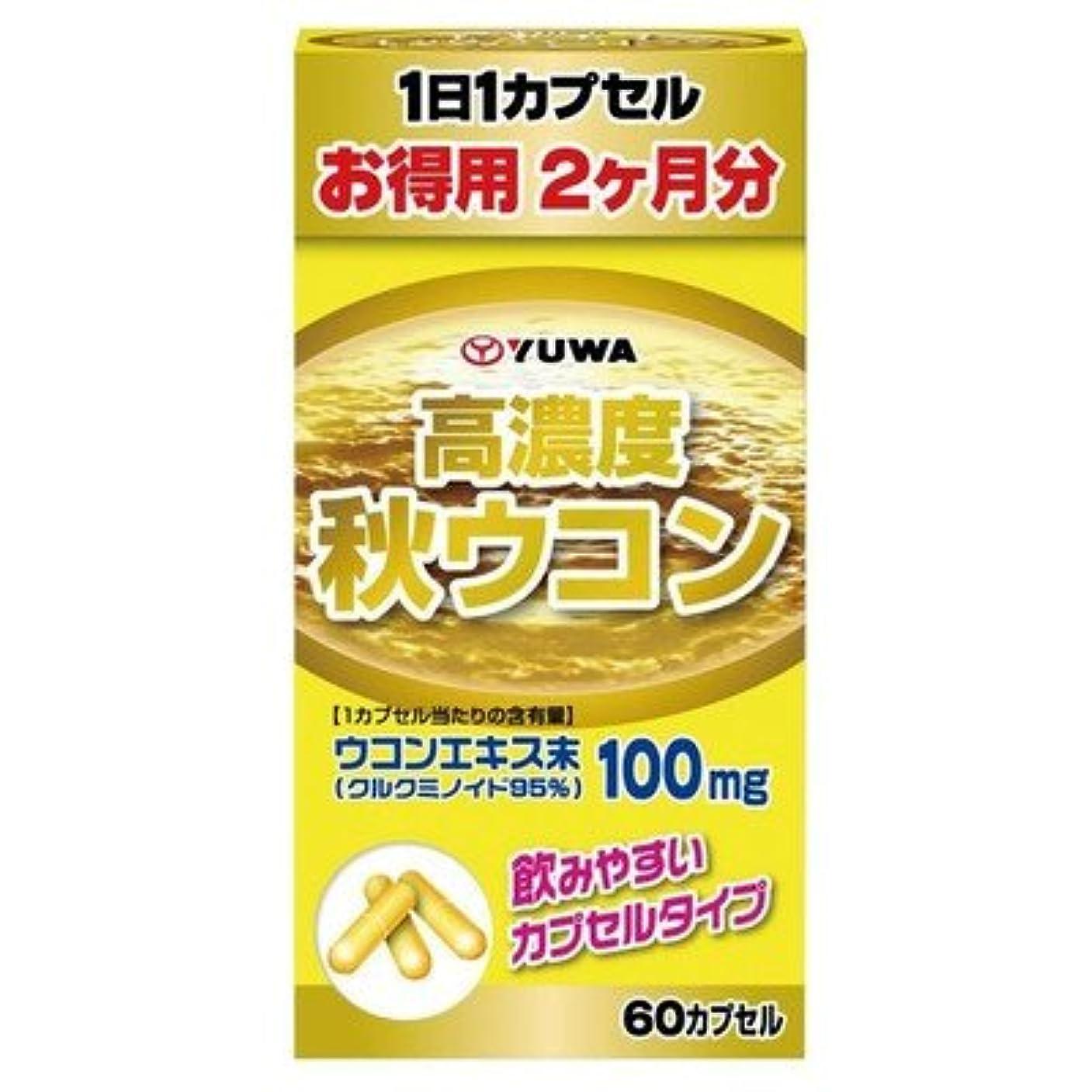 シェル会話インレイユーワ 高濃度秋ウコン お得用約2ヶ月分 60カプセル 1490