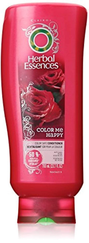 量乳剤娯楽Herbal Essences カラーミーハッピーヘアーコンディショナーの色-処理した毛髪23.7液量オンス(3パック)