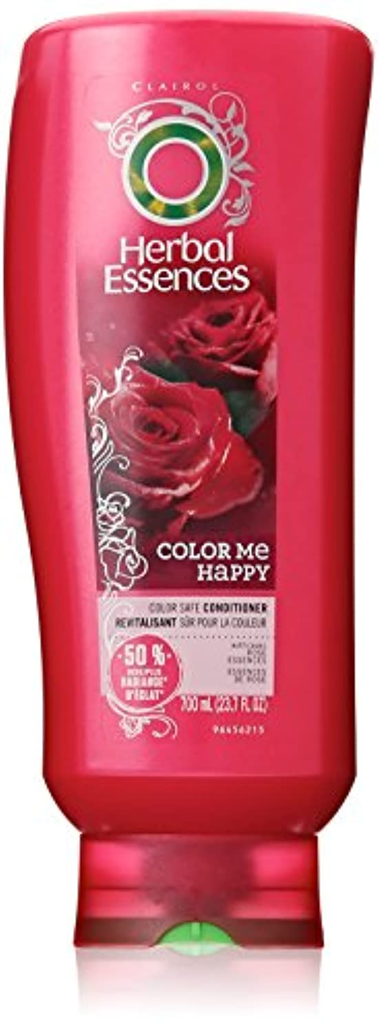 効能ある反逆力強いHerbal Essences カラーミーハッピーヘアーコンディショナーの色-処理した毛髪23.7液量オンス(3パック)