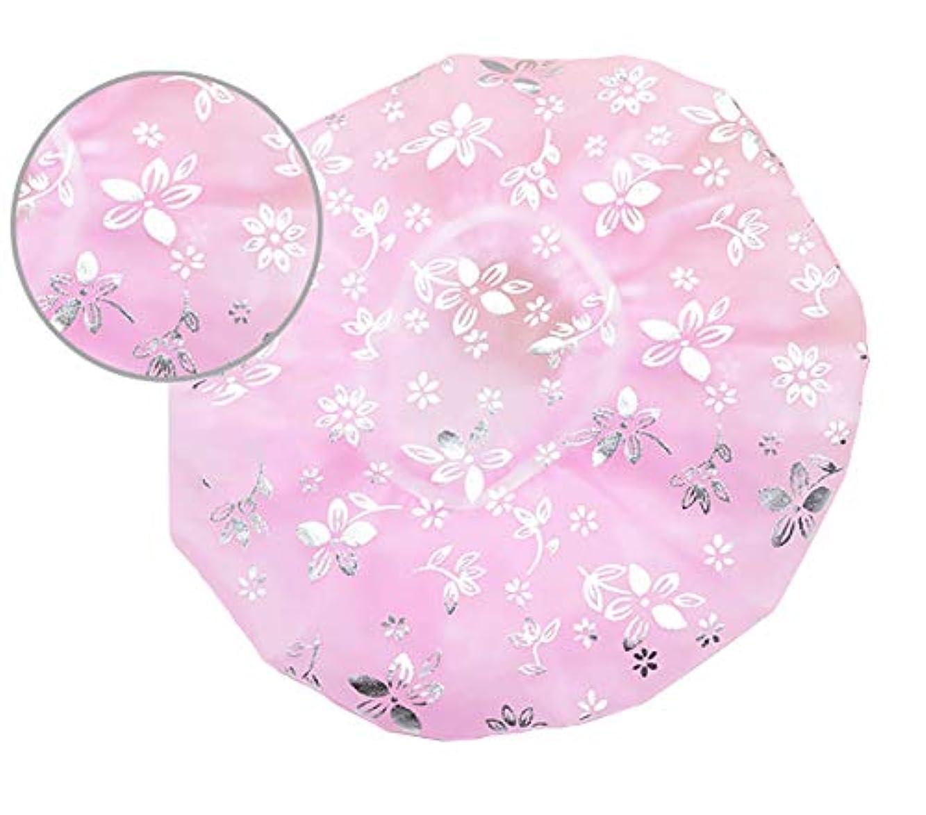 不適アラバマ封筒Maltose 防水シャワーキャップ お風呂 ヘアキャップ 洗顔 バス用品 強い防水性 2枚セット