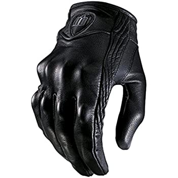 e367cd1b0ec2 Amazon.co.jp: iFormosa MG 本革 バイクグローブ (L, 黒(オール ...