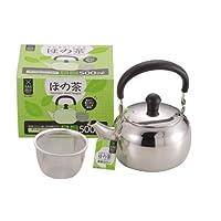 パール金属 つる付 急須 500ml 茶こし あみ付 ステンレス ほの茶 H-6401
