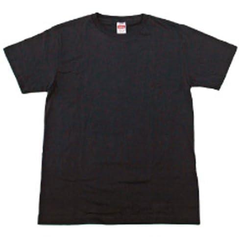 (ヘルスニット) Healthknit 2P 半袖Tシャツ クルー 288 Vネック 208 (L, 288-BK:クルーネック ブラック)