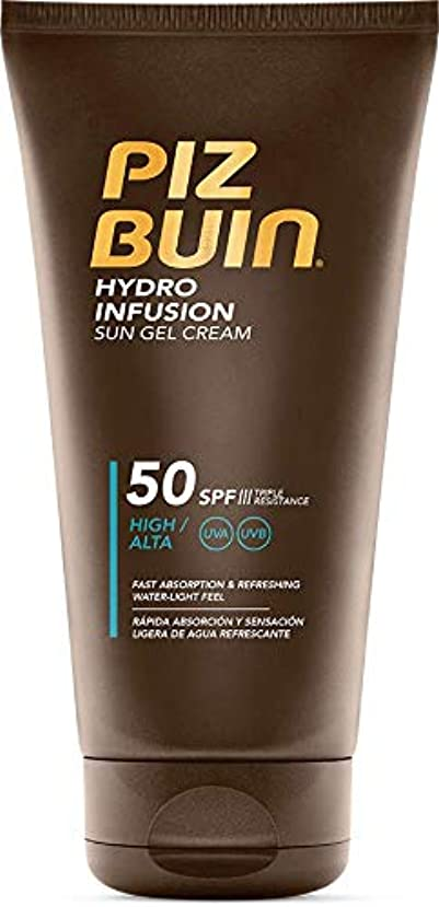 ふりをする手がかりランデブーPiz Buin Hydro Infusion Sun Gel Cream SPF 50150ml