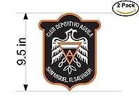 Aguila El Salvador Soccer Football Club FC 2ステッカー車バンパーウィンドウステッカーデカール大9.5インチ