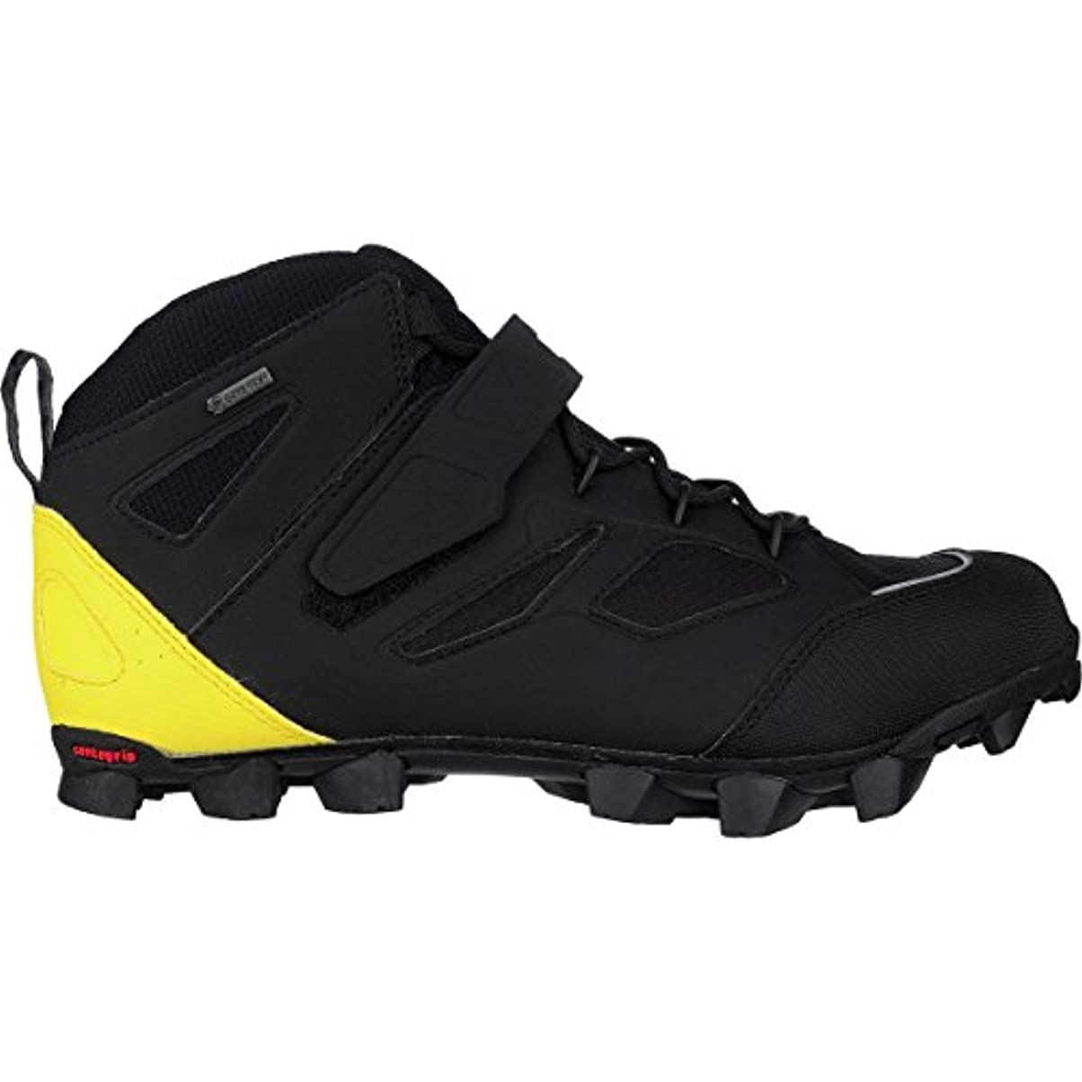 アヒルビット契約Mavic XA Pro h2o GTX Shoe – Men 's Black/Yellow Mavic/ブラック、US 6.0 / UK 5.5