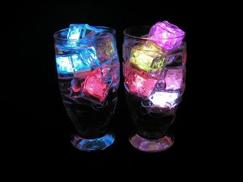 アイスライト キューブアイス キューブライト 光る氷 LED センサーライト 12個