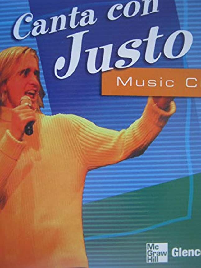 威するペイン悪性腫瘍Canta con Justo Music CD (GLENCOE SPANISH)