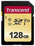 Transcend SDXCカード 128GB MLC NAND 採用 UHS-I Class10 (最大転送速度95MB/s) TS128GSDC500S-E【Amazon.co.jp限定】