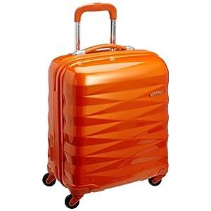 [アメリカンツーリスター] AmericanTourister スーツケース Crystalite クリスタライト スピナー50 機内持込可 保証付 機内持込可 保証付 32L 50cm 2.8kg R87*76001 76 サンセットオレンジ