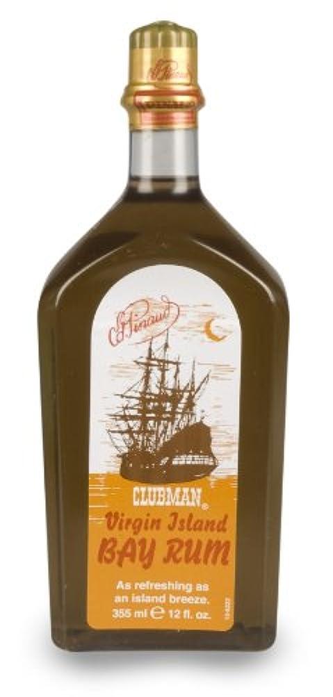 南方のテニス持っているCLUBMAN Virgin Island Bay Rum, 12 oz (並行輸入品)