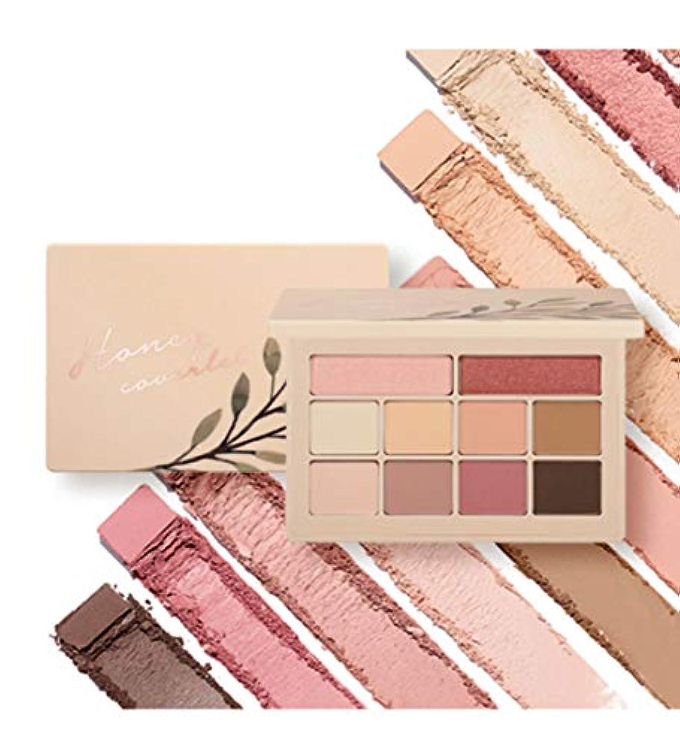 薄める遠え崖Moonshot Honey Coverlet Eyeshadow Palette YOO IN-NA COLLECTIONwarm tone&cool tone 10色のアイシャドウ(並行輸入品)