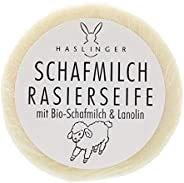 HASLINGER Sheep Milk Shaving Soap, 60 grams