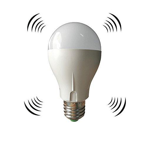 LED電球 搭載レーダー探知機 E26口金 40W形相当 電...