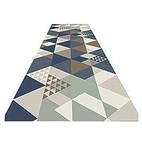 ZEMIN 廊下敷きカーペッ 屋内 滑り止め 機械 作る カーペット 洗える コンテンポラリー、 2色、 マルチサイズカスタム (色 : A, サイズ さいず : 0.8x4m)