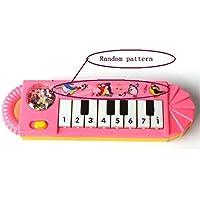 ツガベビーキッドピアノ玩具、子供音楽Developmentalトイ Free size レッド ldc126