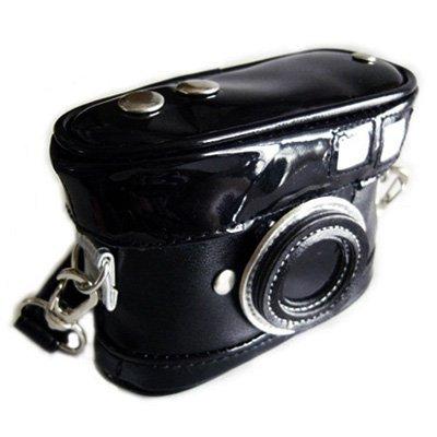 デジカメケース(カメラ)ソフト ブラック...