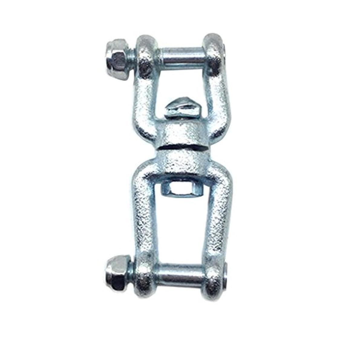 ソファー忠実首尾一貫したPerfk 耐久性 メタル製 バッグスイングシートフック リング コネクタ スイング回転リングフック