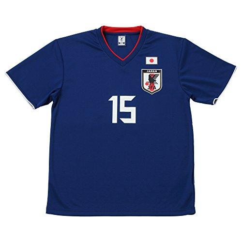 JFA サッカー日本代表 2018年 プレーヤーズTシャツ 大迫勇也 No.15 O-065 S