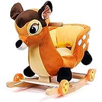 Claroドリーチェアロッキング赤ちゃんのロッキングチェア木馬(海外直送品) (Deer)