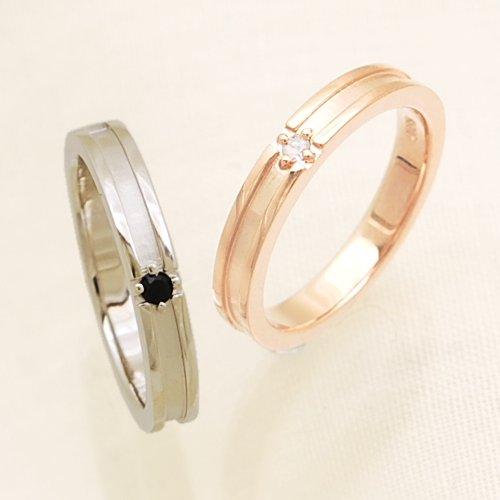 ダイヤモンドクロスリング 指輪/ring/人気 レディース メンズ ケース付き 【ホワイトダイヤモンド・ピンクゴールドタイプ】【リング幅3mm・26号】