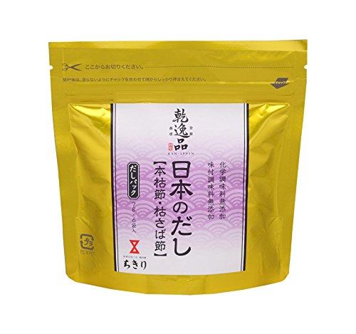 ちきり清水商店 乾逸品 日本のだし本枯節・枯さば節7g(6P×5袋