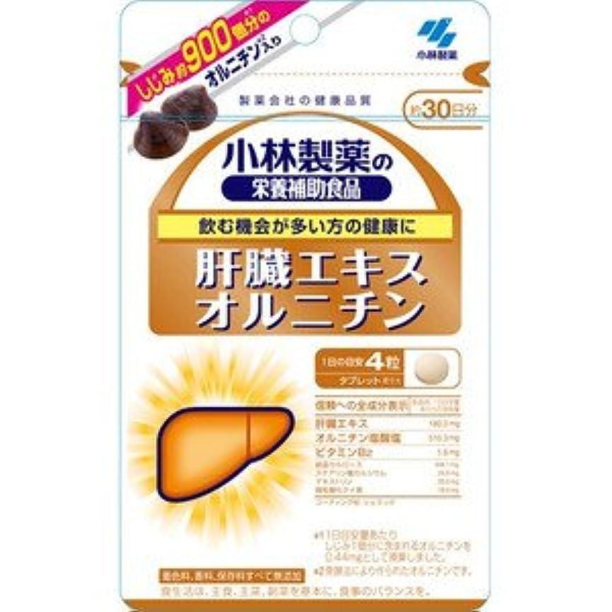 一流ホール届ける【小林製薬】肝臓エキスオルニチン 120粒(お買い得3個セット)