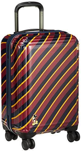 """[エース] スーツケース プレッピー""""ミッキー"""" 機内持込可 オリジナルアルファベットシール付 機内持ち込み可 32L 47cm 3.3kg 06117-10 10 レッドストライプ柄"""