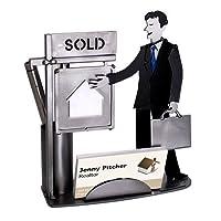 オスReal Estate Agentビジネスカードホルダー