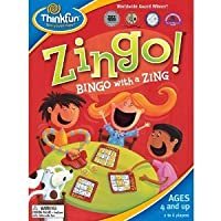 ZINGO CARD GAME (BINGO WITH A ZING) (FOR AGES BETWEEN 4 to 8 years)