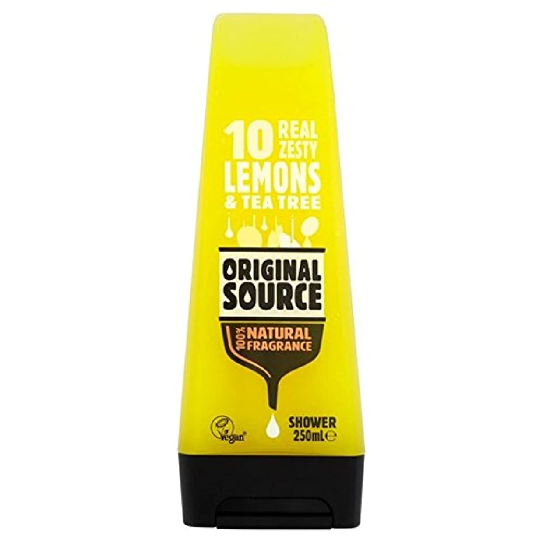 悲劇テクトニックドライバOriginal Source Lemon Shower Gel 250ml - 元のソースのレモンシャワージェル250ミリリットル [並行輸入品]