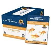 Hammermillプレミアム多目的紙、20-lb。、8–1/ 2x 11、ホワイト、5000/カートン106310
