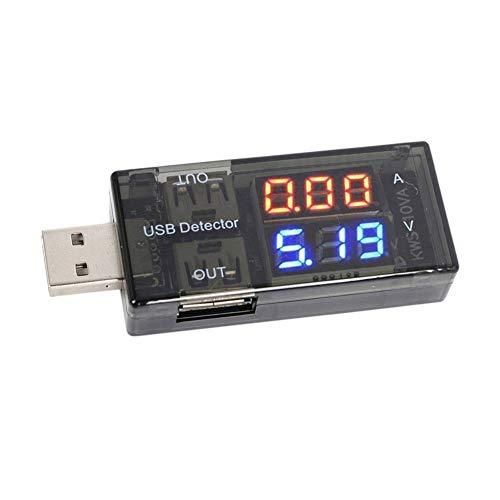 デュアルUSB電流電圧テスター チェッカー BTVICTOR...
