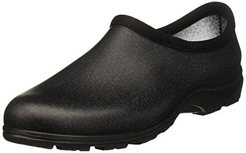 【 通勤 レインシューズ 】一日中履いても疲れない アメリカ製 ゴム臭くない 長靴 防災 アウトドア 散歩 防水作業靴 Sloggers スローガーズ ブラック XXL 26.5cm サイズ10