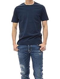 (チルコロ1901)CIRCOLO1901 メンズクルーネックTシャツ CN1817 ネイビー [並行輸入品]