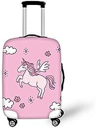 d262da4beb スーツケースカバー 伸縮素材 厚手 防塵 防汚 擦り傷防止 保護カバー 観光旅行 超軽い 洗濯可能 男女兼用 動物 キャラクター ラゲッジカバー  キャリーカバー…