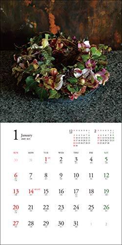 2019年大判カレンダー フレンチスタイルフラワー